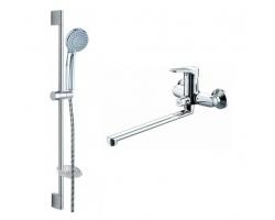 Комплект для ванной комнаты Bravat Eco F00414С