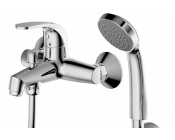 Смеситель для ванны с душевым комплектом Bravat Fit 7F6135188CP-B-RUS FIT
