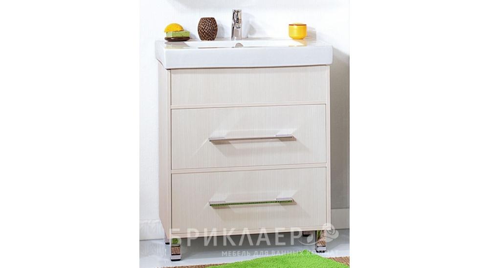 Комплект мебели для ванной Чили 70 светлая лиственница купит.