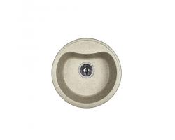 Кухонная мойка Dr.Gans Дора 25.015.B0435.408 серый (435х435 мм)