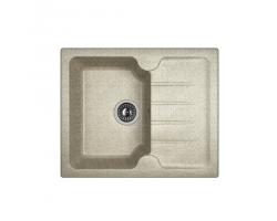 Кухонная мойка Dr.Gans Лора 620 25.020.A0620.408 серый (620х510 мм)