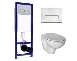 Комплект инсталляции Ideal Standard W770001 (инсталляция Ideal Standard W3710AA и унитаз Ideal Standard Ecco E876901 (дюропластовое сиденье))