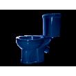 Унитаз напольный Оскольская керамика Дора 47355110212 (антивсплеск, синий)