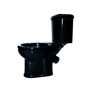 Унитаз напольный Оскольская керамика Дора 47374110212 (антивсплеск, чёрный)