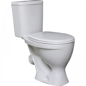 Унитаз напольный Sanita Эталон Эконом (полипропилен сиденье)