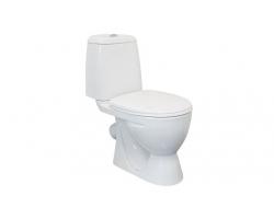 Унитаз напольный Sanita Идеал Эконом (полипропиленовое сиденье)