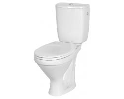 Унитаз напольный Cersanit Trento S-KO-TR011-3/6-PL-w (термопластовое сиденье, микролифт)