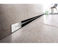Дизайн-решётка Viega Advantix Vario SR1 736569 (хром матовый, для углового трапа)