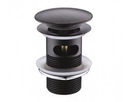 Донный клапан Wasser Kraft Push-up A047 (тёмная бронза)