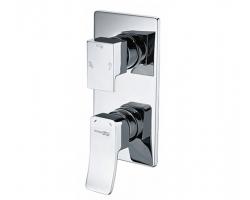 Смеситель для ванной со встроенной системой монтажа Wasser Kraft Aller 10671