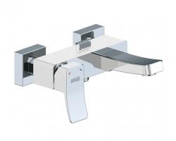 Смеситель для ванны Wasser Kraft Aller White 1061 (белый, хром глянец)