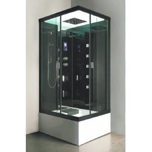 Душевая кабина Nautico-9818 110х85 (тонированное стекло, высокий поддон с гидромассажем)