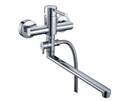 Смеситель для ванны с длинным изливом Wasser Kraft Main 4102L