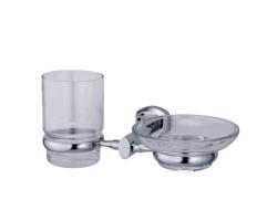 Держатель стакана и мыльницы WasserKraft Oder K-3026 (хром глянец)