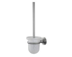 Щетка для унитаза подвесная Wasser Kraft Ammer К-7027 (матовый хром)