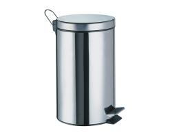 Ведро для мусора WasserKraft 3L К-633 (хром глянец)