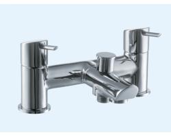 Смеситель для ванны Еса 102102312 (хром глянец, врезной на борт ванны)
