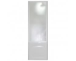 Душевая шторка боковая на ванну 1-MarKа 80140 80х140 (белая, хром)