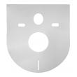 Звукоизоляционная плита для подвесного унитаза универсальная