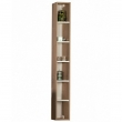 Шкаф-колонна Акватон Йорк 17 см. 1A171103YOB40 (дуб сонома, подвесная, открытая)