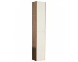Шкаф-колонна Акватон Йорк 30 см. 1A171203YOAD0 (белая-дуб сонома, подвесная)
