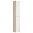 Шкаф-колонна Акватон Йорк 30 см. 1A171203YOAV0 (белая-ясень фабрик, подвесная)