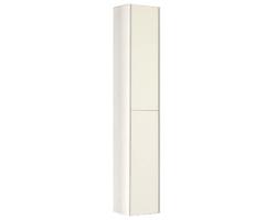 Шкаф-колонна Акватон Йорк 30 см. 1A171203YOAY0 (белая-выбеленное дерево, подвесная)