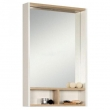 Зеркало-шкаф Акватон Йорк 55 55 см. 1A173202YOAD0 (белое-дуб сонома)