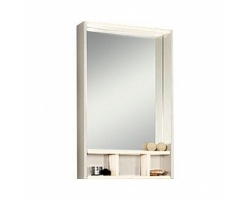 Зеркало-шкаф Акватон Йорк 60 60 см. 1A170102YOAY0 (белое-выбеленное дерево)