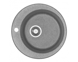 Кухонная мойка Акватон Иверия 1A711032IV230 Ø 480 мм. (серый)