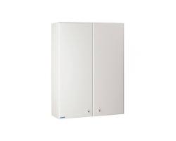 Шкаф подвесной Акватон Симпл 61 см. 1A012403SL010 (белый, двустворчатый, подвесной)