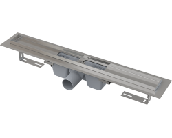 Душевой лоток AlcaPlast APZ1-550 55 см. (с гидрозатвором и опорами, без решетки)