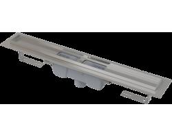 Душевой лоток AlcaPlast APZ1001-550 55 см. (вертикальный, с гидрозатвором и опорами, без решетки)