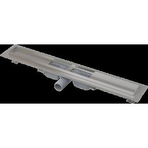 Душевой лоток AlcaPlast APZ101-1150 Low 115 см. (плоский, с гидрозатвором и опорами, без решетки)