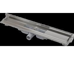Душевой лоток AlcaPlast APZ104-750 Flexible Low 75 см. (угловой, плоский, с гидрозатвором и опорами, без решетки)