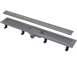 Душевой лоток AlcaPlast APZ18-650M 65 см. (нержавеющая сталь)