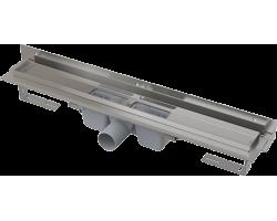 Душевой лоток AlcaPlast APZ4-750 Flexible 75 см. (угловой, с гидрозатвором и опорами, без решетки)