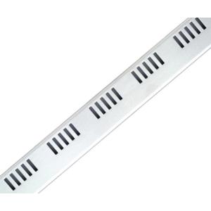 Дизайн решетка AlcaPlast Dream-1050M 105 см. (нержавеющая сталь, матовая)