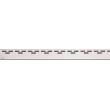 Дизайн решетка AlcaPlast Hope-1150L 115 см. (нержавеющая сталь, глянец)