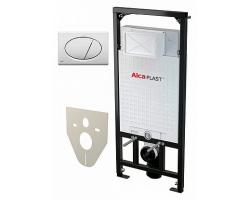 Инсталляция для подвесного унитаза AlcaPlast Sadromodul A101/1120+М070 (клавиша белая)