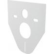 Звукоизоляционная плита для подвесного унитаза и биде AlcaPlast M91
