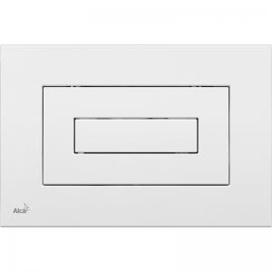 Клавиша смыва AlcaPlast M470 (белая)