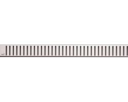 Дизайн решетка AlcaPlast Pure-300L 30 см. (нержавеющая сталь, глянец)