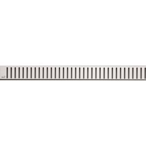 Дизайн решетка AlcaPlast Pure-650L 65 см. (нержавеющая сталь, глянец)