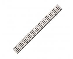 Дизайн решетка AlcaPlast Pure-300M 30 см. (нержавеющая сталь, матовая)