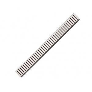 Дизайн решетка AlcaPlast Pure-550M 55 см. (нержавеющая сталь, матовая)