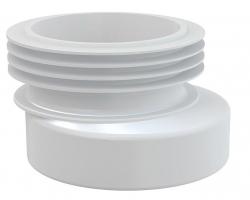 Манжета для унитаза AlcaPlast A990 (белая, эксцентрическая)