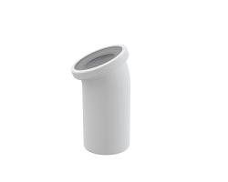 Фановый отвод для унитаза AlcaPlast A90-22 22° (белый)