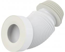 Раздвижной слив для унитаза AlcaPlast A97S (белый)