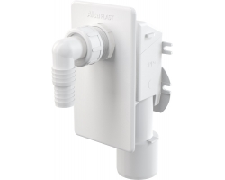 Сифон для стиральной машины AlcaPlast APS4 (скрытого монтажа, белый)